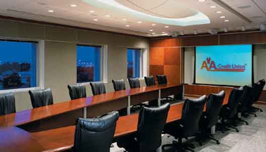 video conference room designs installs audio, video, lighting systems