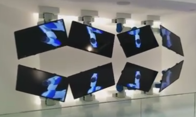 freakishly cool video wall design - Video Wall Design