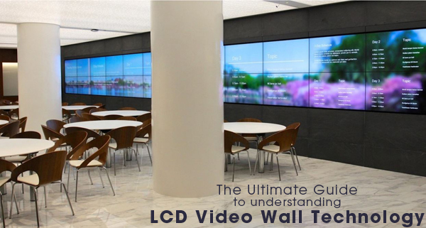 Exceptional LCD Video Wall Technology