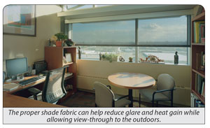 office shading solar control solutions
