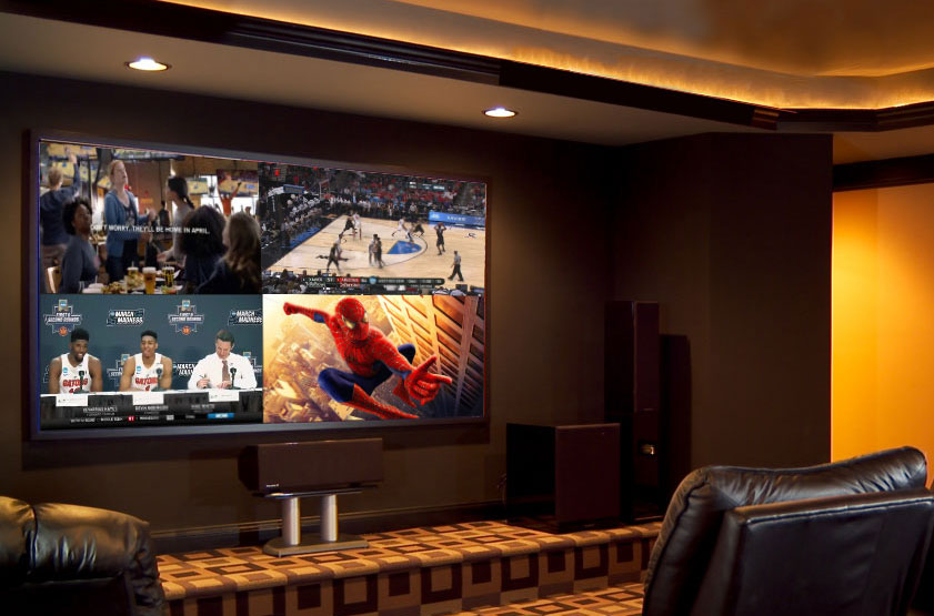 video wall save electronics